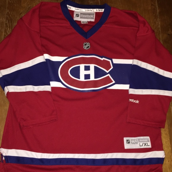 Montreal Canadiens NHL authentic hockey jersey. M 5a90156aa6e3ea66b18b0965 3103c1a33